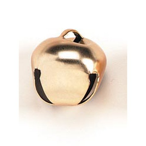 Darice Holiday Jingle Bells-Matte Gold-35mm-4 Pieces, 1 -