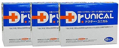 ユニカル ドクターユニカル(Dr.unical) 60包 3個セット B00M3S5N4A