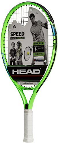 HEAD Speed Kids Tennis Racquet - Beginners Pre-Strung Head Light Balance Jr Racket - 19