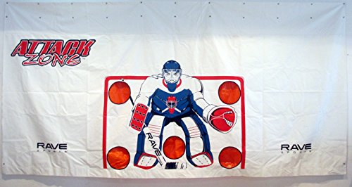 RAVE Sports Attack Zone 16' x 8' Hockey Shooting Tarp by RAVE Sports (Image #1)