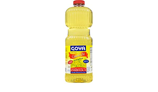 Amazon.com : Goya Foods Canola Oil, 48 Fluid Ounce (Pack of 9) : Grocery & Gourmet Food
