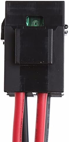 JVSISM 30A Fuse 6 PIN Short Wave Power Supply Cord Cable For Yaesu FT-857D IC-725A 1 metres