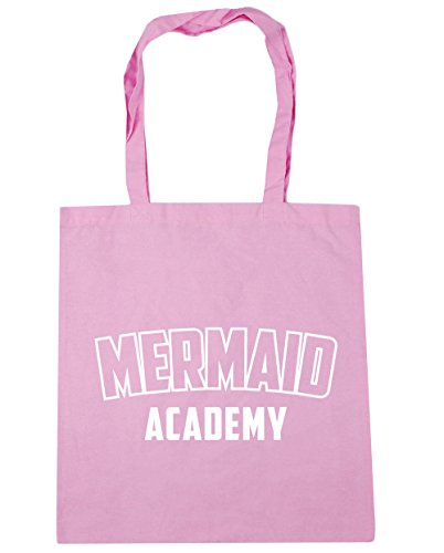 Pink litres x38cm Classic Shopping HippoWarehouse Tote 10 Mermaid Academy Gym 42cm Beach Bag OwqT7Z
