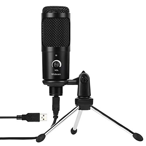 USB Microphone Condenser Mic 192KHz/24bit Plug and Play Computer Podcast Condenser Recording Microphone for Laptop MAC or Windows Karaoke, YouTube,TikTok£¬Gaming, Recording, Skype, Live Streaming