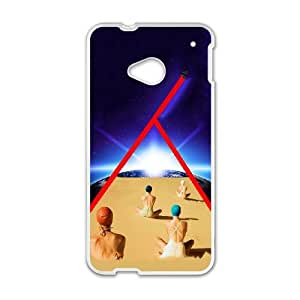 HTC One M7 Cell Phone Case White Meditation YT1219252
