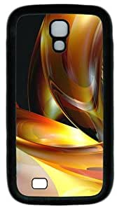 3D Abstract Designs Custom Designer Samsung Galaxy S4 Case and Cover - TPU - Black