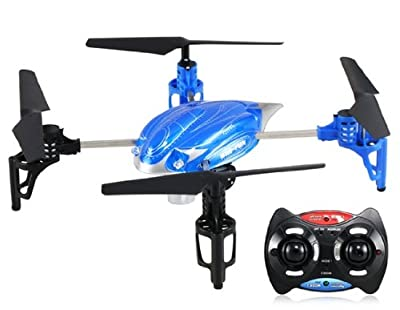 HuanQi 880 2.4GHz 4-axis Remote Control Aircraft Helicopter with LED Light (Blue)