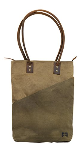 the JOPLIN TALL TOTE by FAT FELT (Earth) by FAT FELT