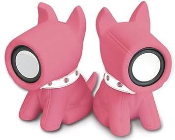 speakers pink. s dog speakers, pink speakers w