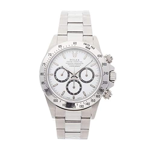 (Rolex Daytona Mechanical (Automatic) White Dial Mens Watch 16520 (Certified Pre-Owned))