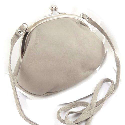 judas bolsa de Bolso cuero gris de 'Frandi' zOIAUq