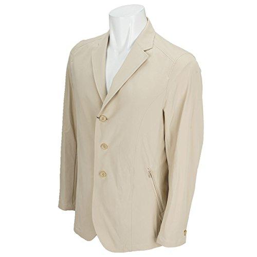 Charee Braver (チャーリーブレイバー) 4Way ライトクロス ナイロンジャケット ストレッチ nylon jacket 748504 (3(L), ベージュ)