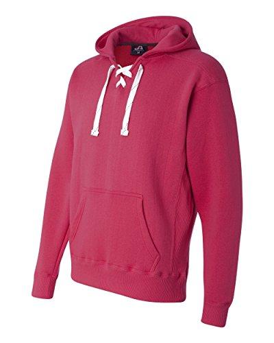 Charcoal Hockey Hood Sweatshirt: 80% Ringspun Cotton, 20% Polyester Fleece Fabric.,Charcoal Heather,Large