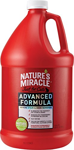 Nature's Miracle Just for Cats Advanced Stain And Odor Formula 128oz (Gallon)