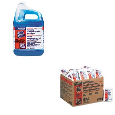 KITPAG02370PAG32538 - Value Kit - Procter amp; Gamble Professional Floor amp;amp; All-Purpose Cleaner (PAG02370) and Spic And Span Disinfecting All-Purpose Spray and Glass Cleaner (PAG32538)