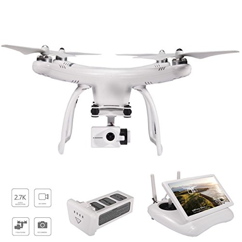 UPair Video Drone, Drone with Camera, 2.7K HD Camera, 5.8G FPV Monitor...