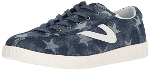Tretorn Men's NYLITEPLUS Sneaker, Dark Blue, 8 M US