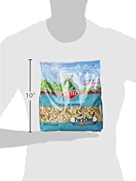 Kaytee Forti Diet Pro Health Bird Food with Safflower for Parrots, 5-Pound Bag