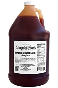 General Kung Pao Gluten Free Sauce - 1/2 Gallon, Net Wt. 4.7 Lbs.