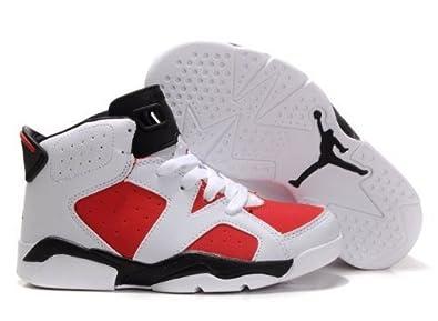 8ed993880d5 Jordan 6 RETRO (TD) Toddlers Sneakers Style# 384667-161 (3.5 C ...