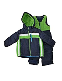 London Fog Toddler Boy's 2-Piece Snowsuit Navy