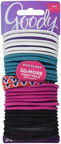 - Goody Corporate Ouchless Elastic, Spring Ikat, 30 Count