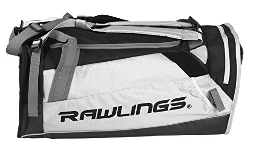 Bags Duffle Baseball (Rawlings R601-W R601 -W Baseball Equipment Bags Duffle)