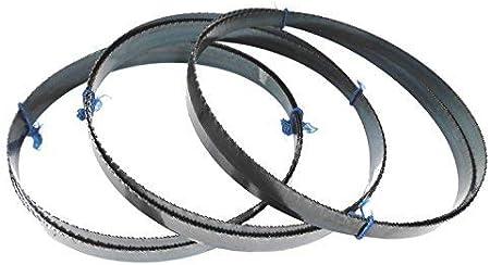 3er Pack SBM Werkzeugstahl S/ägeband 2110 x 13 x 0,65 mm mit 10 ZpZ Bands/ägeblatt