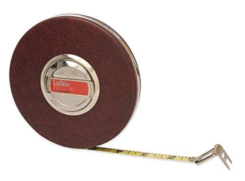 "LUFKIN HW50 3/8"" x 50' Home Shop Yellow Clad Tape Measure"