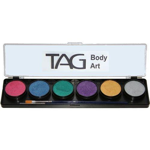 TAG Face Paint 6 Color Palette - Pearl (10g)