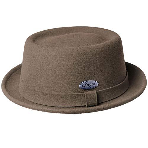 Kangol Men's LITE Felt Pork Pie HAT, Cocoa, L (Mens Pork Pie Hat)