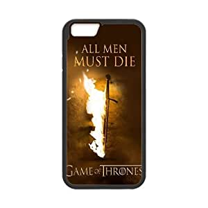 iPhone 6 4.7 Inch Cell Phone Case Black Game Of Thrones All Men Must Die TR2278174