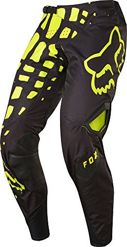 2017 Fox Racing 360 Grav Pants-Black/Yellow-32 by Fox Racing