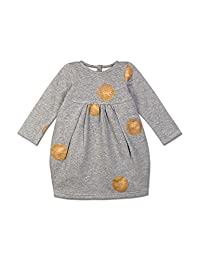 CHANDAMAMA Nonna Unique Baby Girl Grey Dress , 12 Years