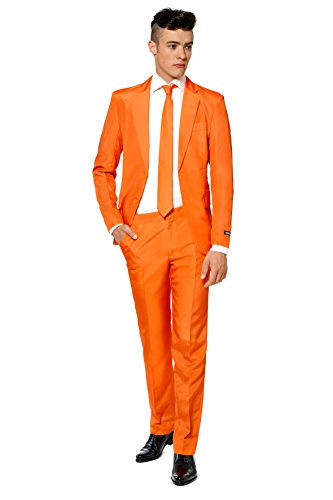 6e0a246607 We Analyzed 9,611 Reviews To Find THE BEST Men Suit Orange