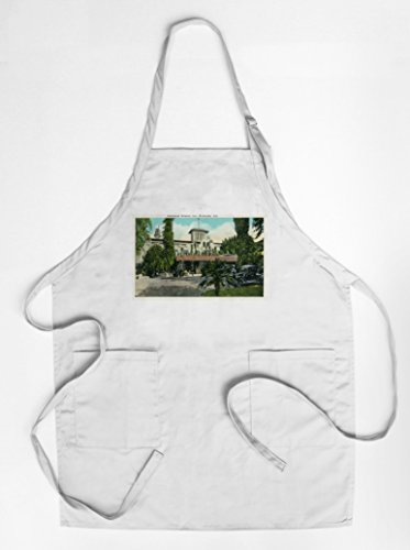 riverside-california-exterior-view-of-the-glenwood-mission-inn-quality-cotton-polyester-chefs-apron