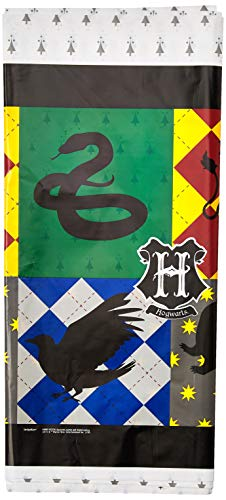 American Greetings Harry Potter Table Cover (Plastic Potter Tablecloth Harry)