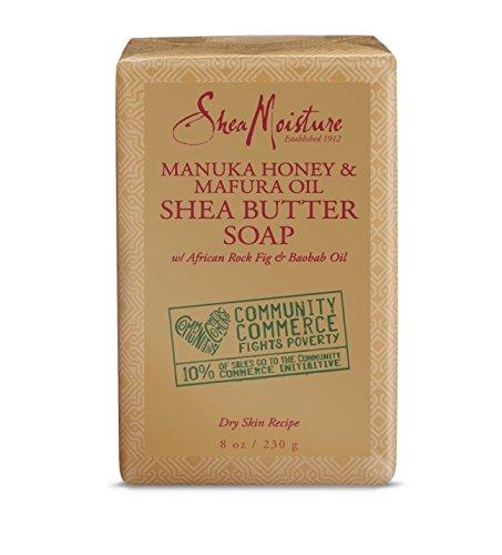 SheaMoisture Manuka Honey & Mafura Oil Shea Butter Soap | 8