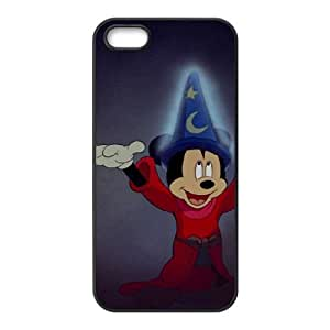 Mickey's Magical Christmas Snowed in at the House of Mouse iPhone 5 5s Cell Phone Case Black bzwg