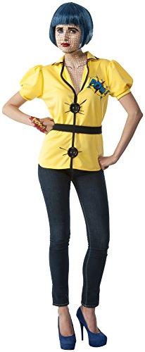Rubie's Costume Co Women's Tracy Costume, Yellow/Black, Standard