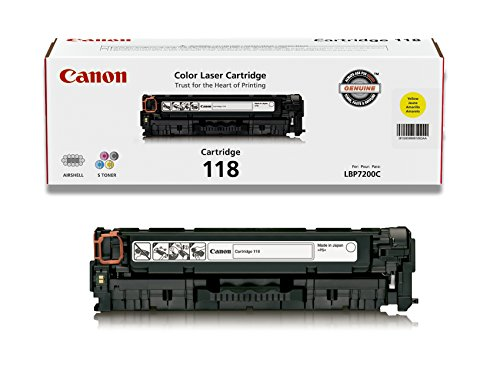 Canon Original 118 Toner Cartridge - Yellow