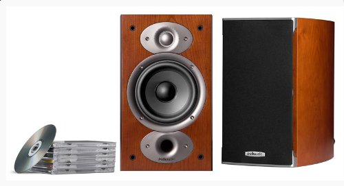 Parlante : Polk Audio Rti A1 Bookshelf Speakers Cherry