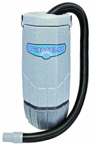 Sandia 20-1001 Super Raven Backpack Vacuum with 5 Piece Standard Tool Kit, 10 Quart Capacity - Backpack Vacuum Machine