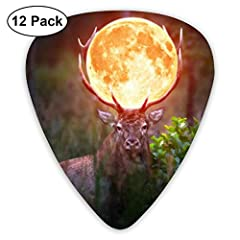 Standard Guitar Pick Shape With A Comfortably Wide Body And A Rounded Tip That Prevents Chipping And Provides A Warm, Fat Musical Tone.The Traditional 351 Shapes Provide A Sense Of Comfort And FamiliarityMaterial: ABSSize: 2.6*3cmThickness: 0...