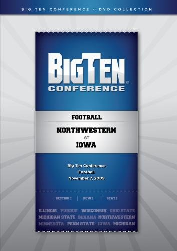 2009 Big Ten Football Regular Season Game - Northwestern at Iowa - Northwestern Iowa Football