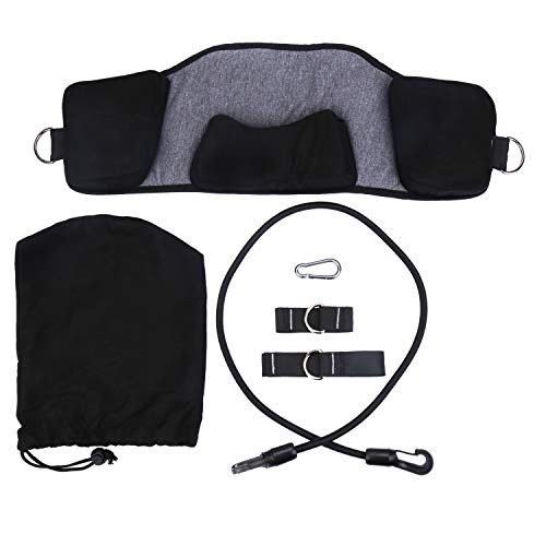 Neck Stretching Exercises, Back Relax Pillow, Stretcher Collar Device, Portable Cervical Traction for Neck & Shoulder Pain Relief for Office Workers, Students, Drivers, Body Workers
