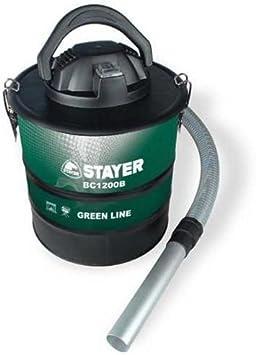 Stayer - Aspirador de cenizas 1200W BC1200B: Amazon.es: Bricolaje y herramientas