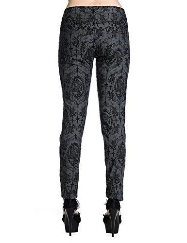Pantalon Gris Banni Banni Femme Pantalon nw67xaw8