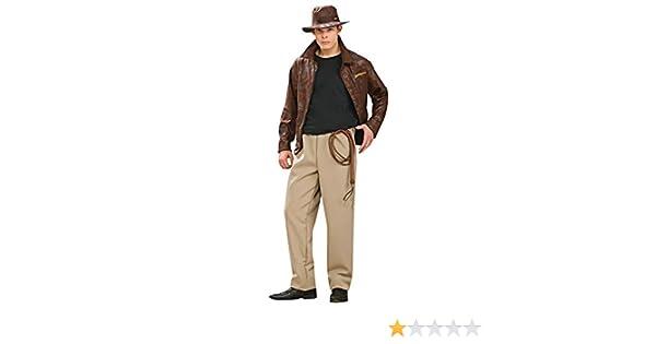 6c699b799621a Amazon.com  Deluxe Indiana Jones Adult Costume - Standard  Clothing