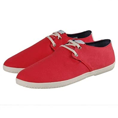 2dce03315469 Adidas Originals Touch Toe Lace Canvas Espadrille Trainers - Red (6 ...